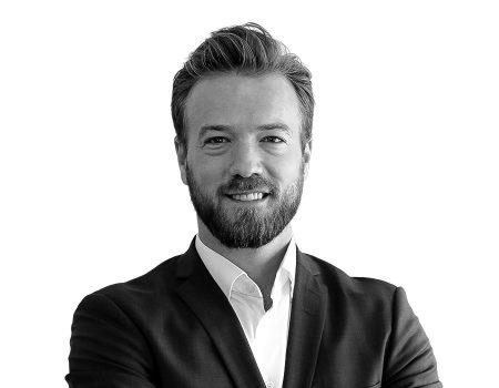 Thomas Obelitz Høgsbro-Rode taler til IMPACT Extend event med Raptor