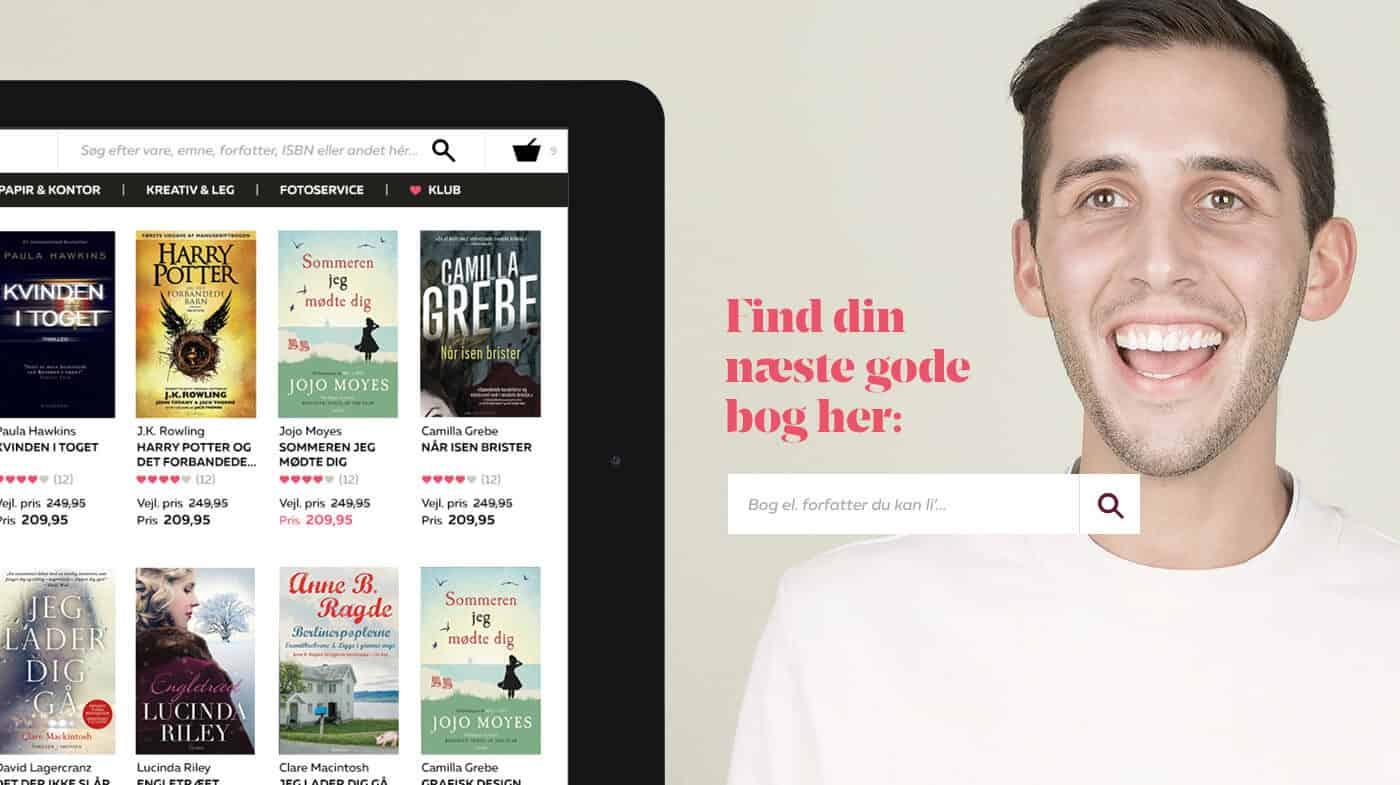 IMPACT har udviklet Bog & idé omnichannel e-commerce-løsning