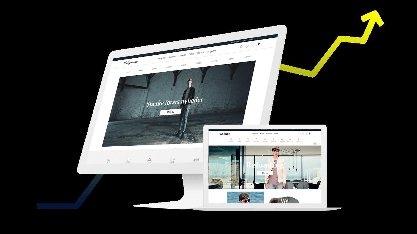 Tøjeksperten uses digital marketing and adwords
