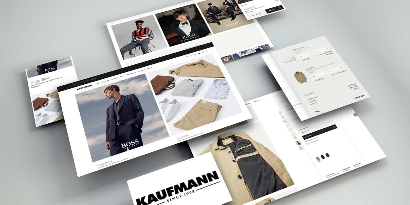 Kaufmann omni-channel b2c ecommerce is created by impact