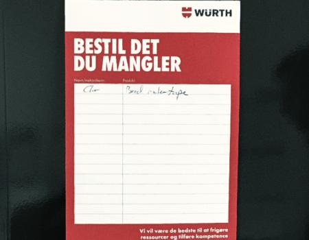 IMPACT har undersøgt håndværkeres kunderejse for Würth