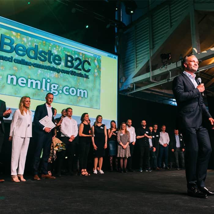 nemlig.com won e-handelsprisen 2019 and is a leading online supermarket