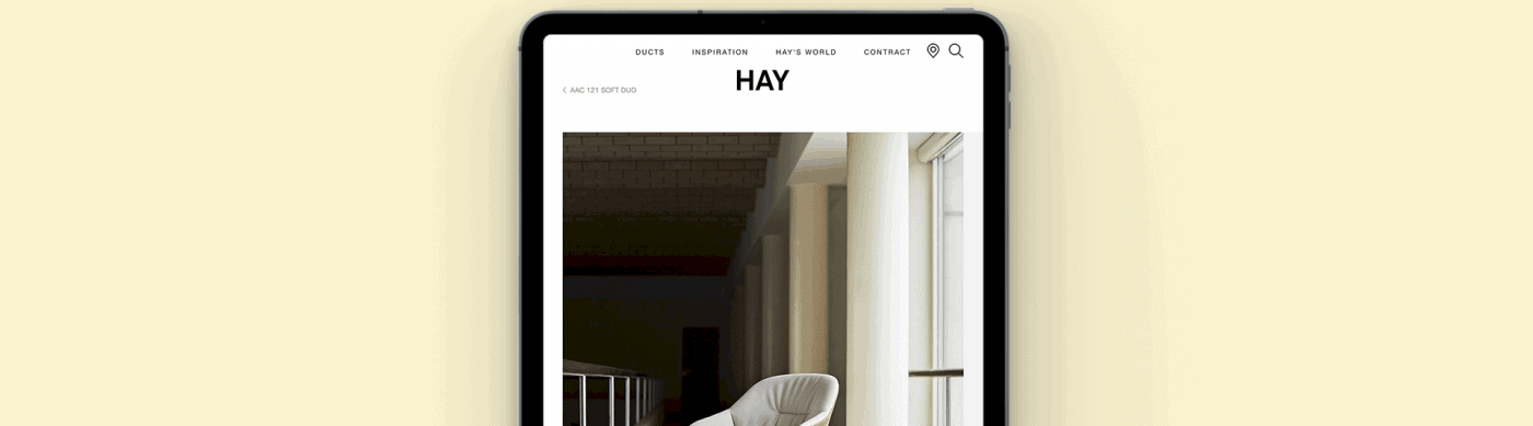 Hay's b2b2 ecommerce is developed by impact