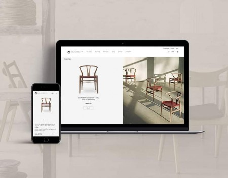 Carl Hansen & Søn's ecommerce is built by IMPACT