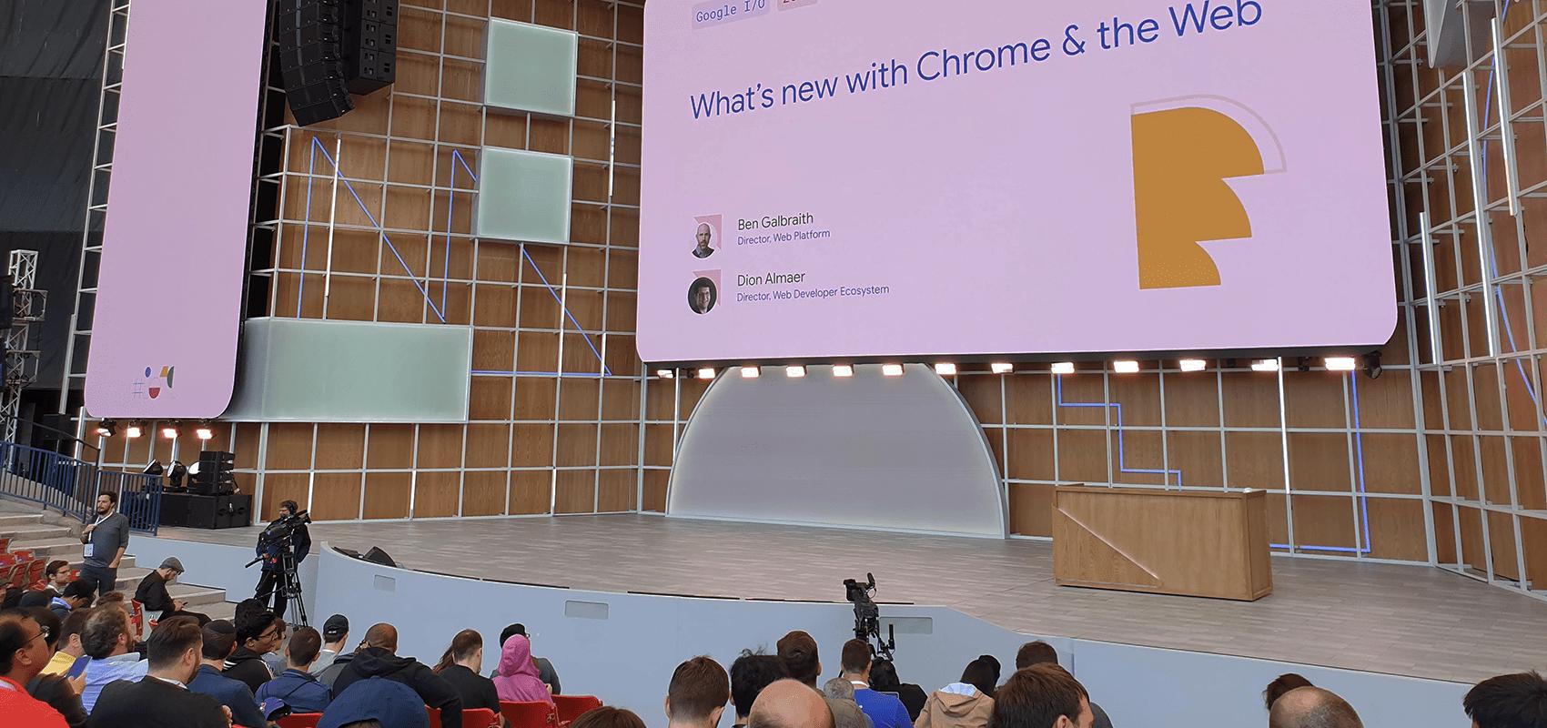 Secruity was a theme at Google I/O 2019