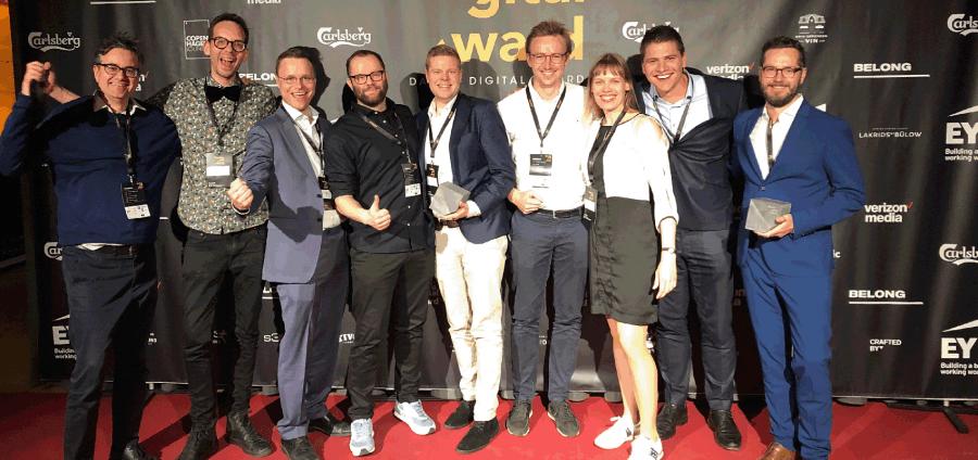nemlig.com and IMPACT wan danish digital award 2019