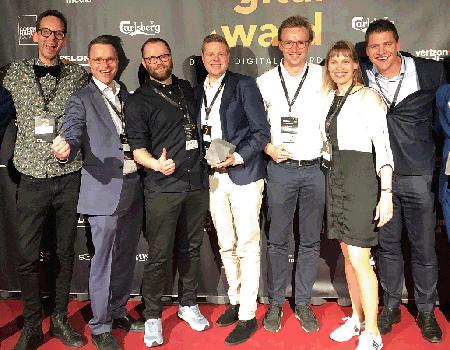 Impact og nemlig.com vandt danish digital award 2019