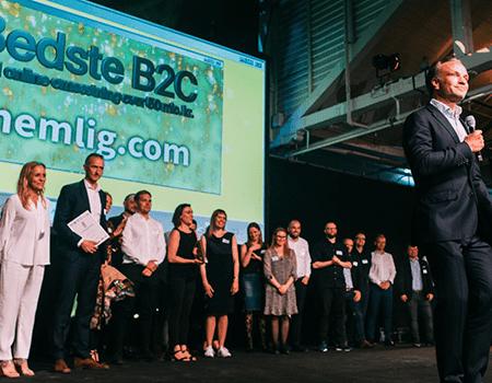 nemlig.com og impact vandt e-handelsprisen 2019