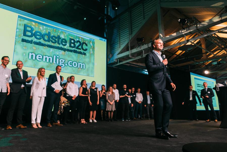 nemlig.com vandt guld til e-handelsprisen 2019