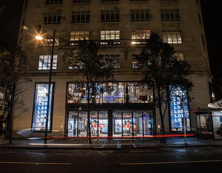 Adidas' flagship store i London er deres mest digitale butik til dato
