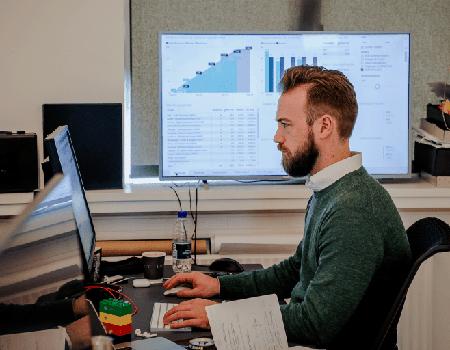Thomas Obelitz Høgsbro-Rode har været med til at udvikle et BI dashboard for marketing spend
