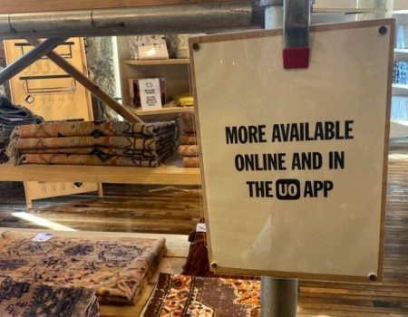 urban outfitters has a great commerce app
