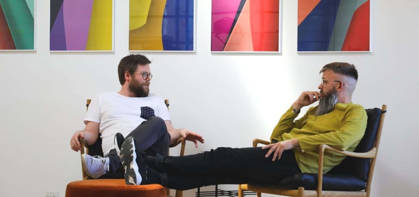Anders Bom har skabt design løsninger for hummel, montana, Ganni