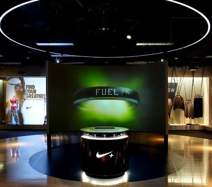 nike has a digital point of sales system
