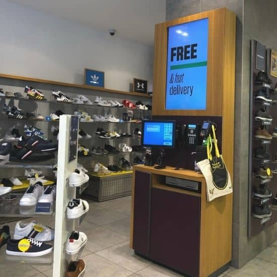 schuh in lonodn uses pos